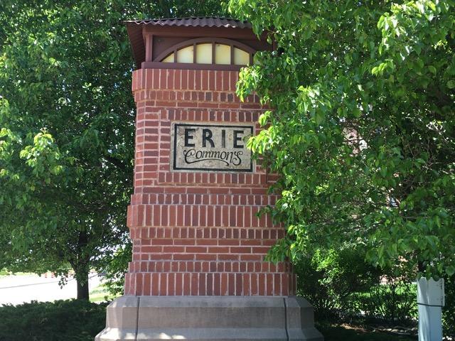 Neighborhood sign for Erie Commons - Erie Neighborhood Information