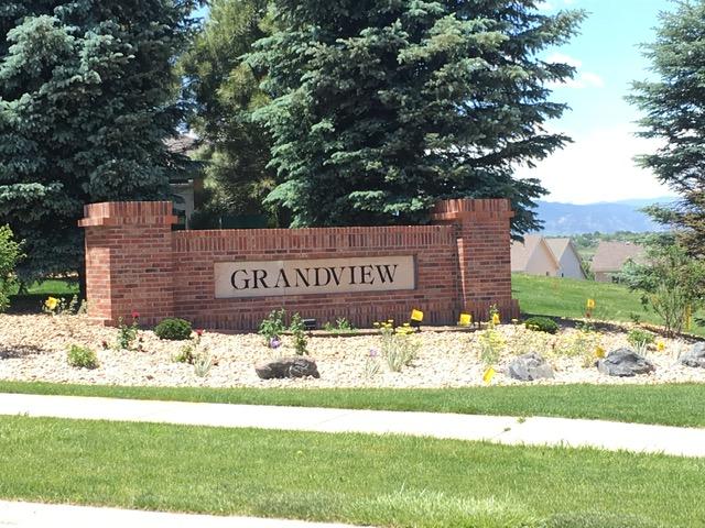 Neighborhood sign for Grandview - Erie Neighborhood Information