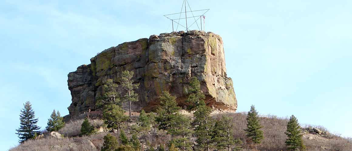 Castle Rock CO Butte