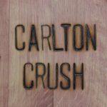 Carlton Crush this weekend