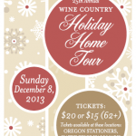 25th ANNUAL WINE COUNTRY HOLIDAY HOME TOUR
