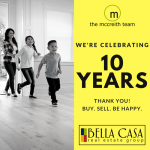 Celebrating 10 Years of Helping You Buy. Sell. Be Happy!
