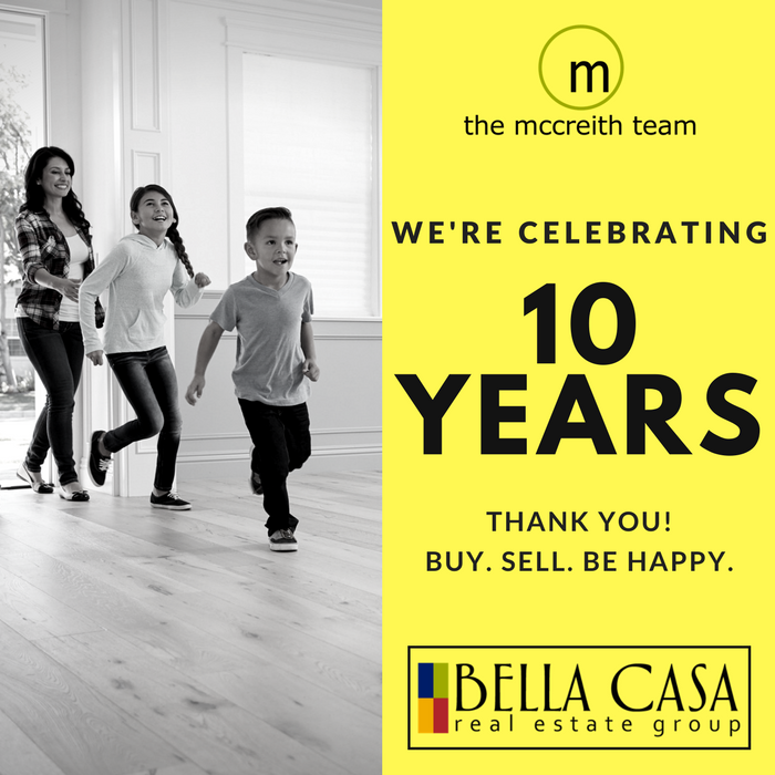 10 Year Anniv web square Celebrating 10 Years of Helping You Buy. Sell. Be Happy!