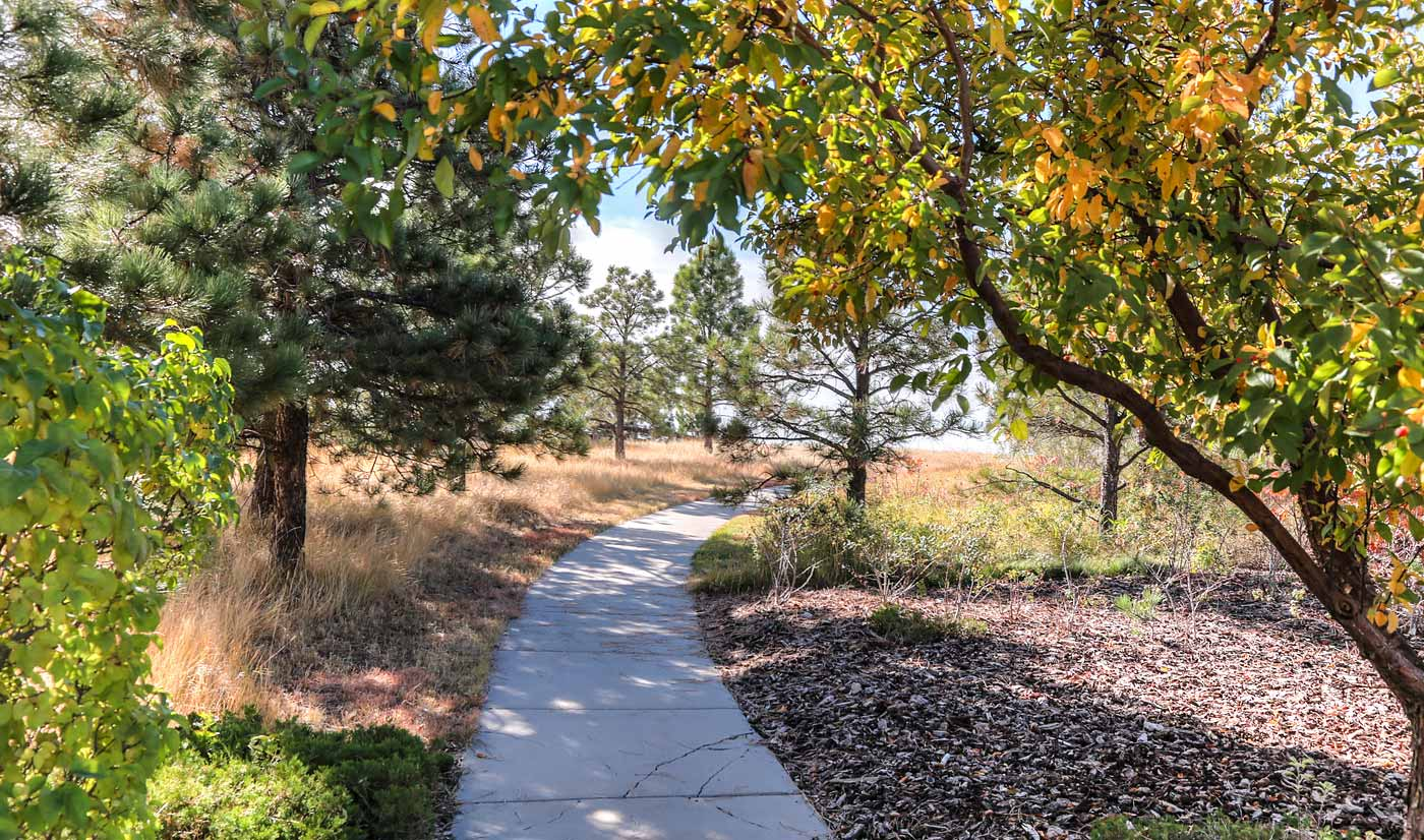200 Acres of Open Space & Winding Walkways