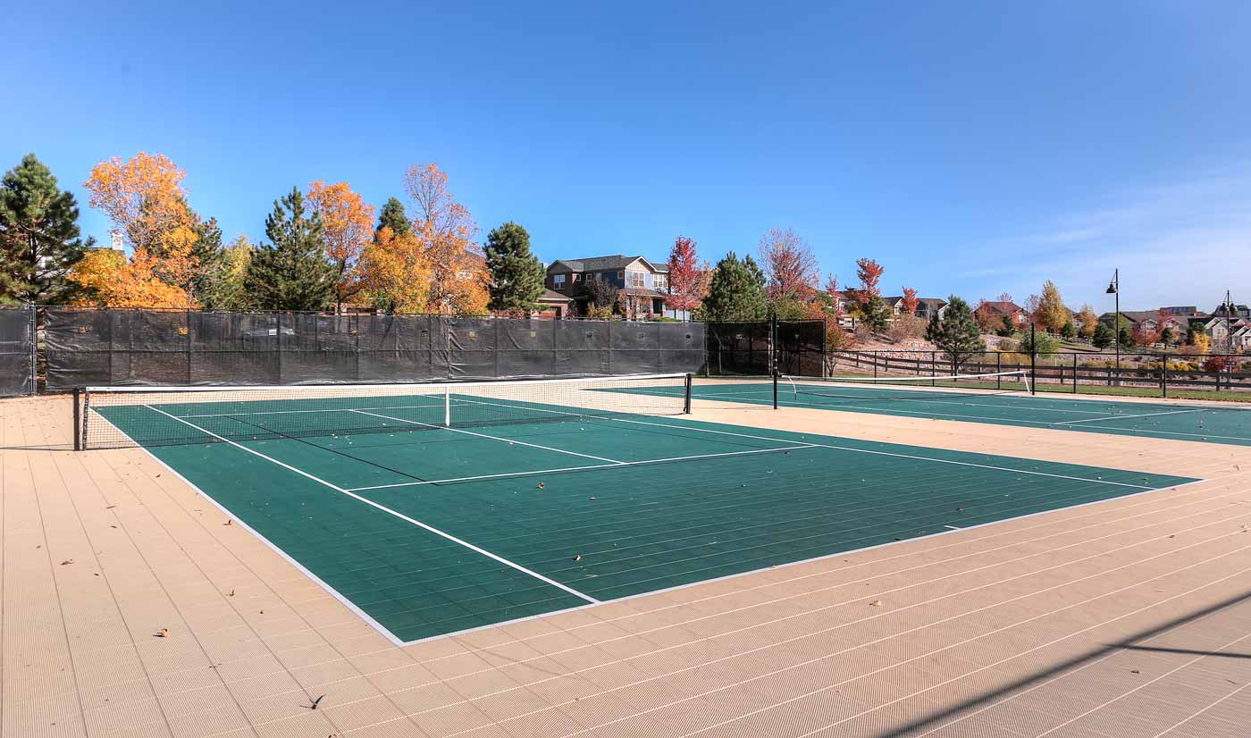 Tennis Courts in Tallyns Reach