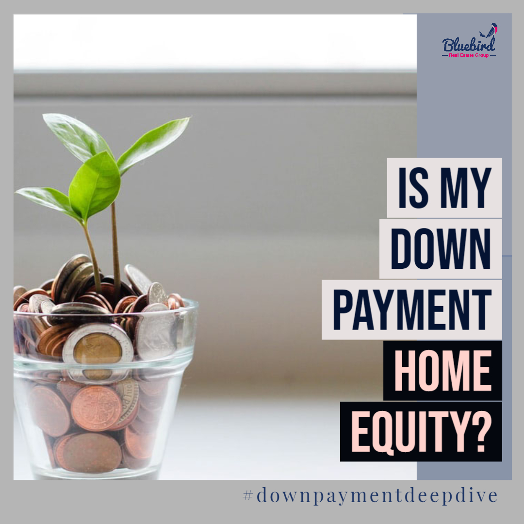 Is my house down payment home equity?