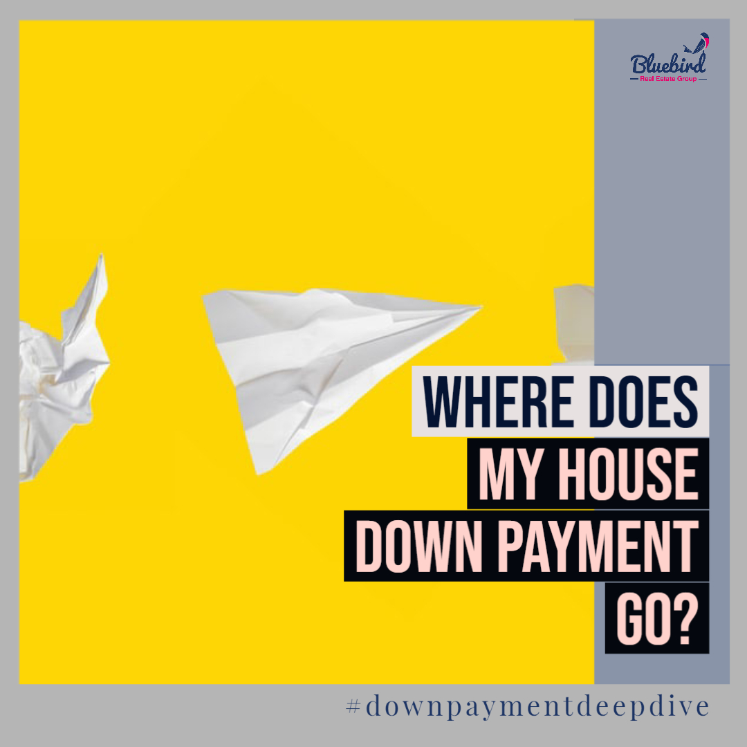 Where does my house down payment go?