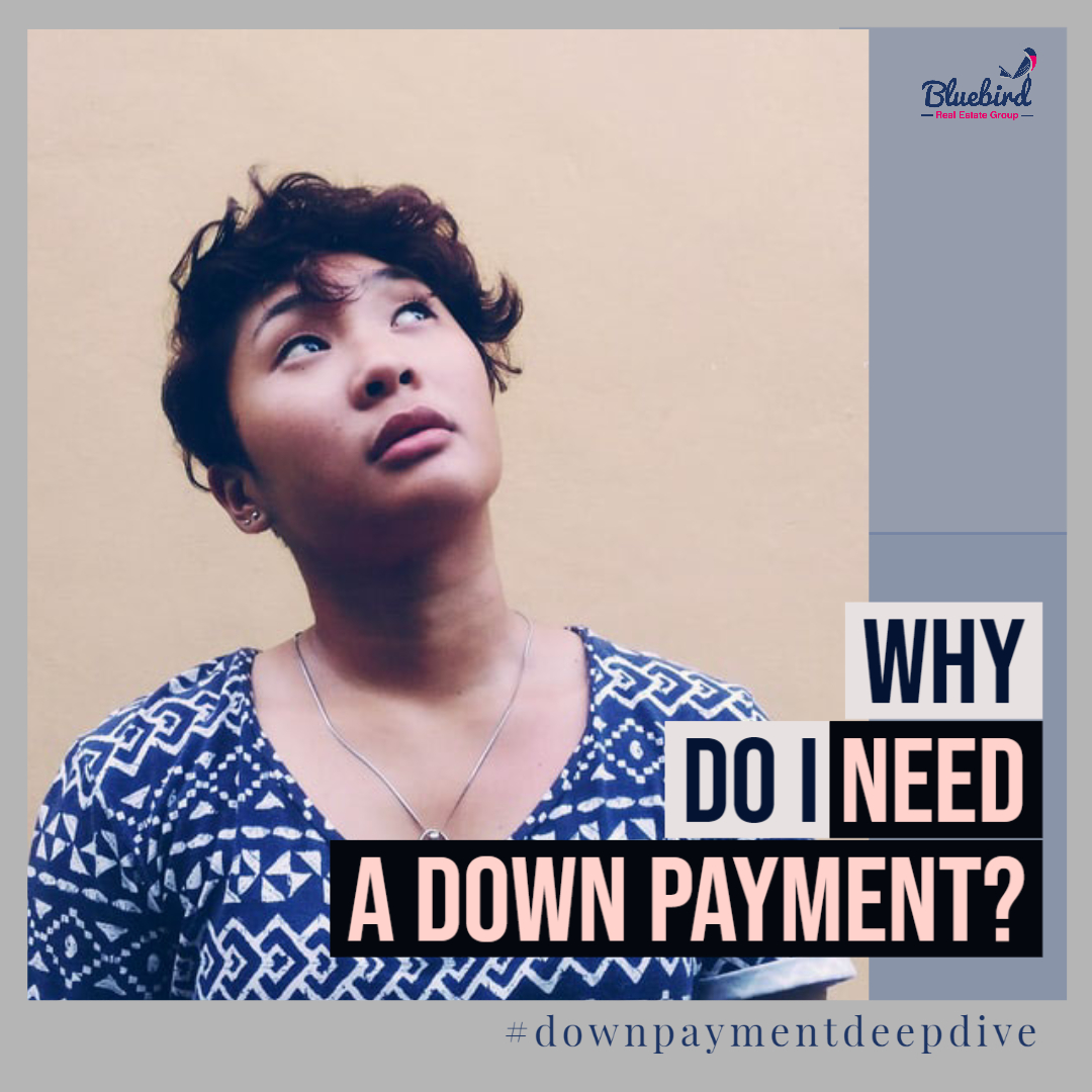 Why do I need a down payment for a house?