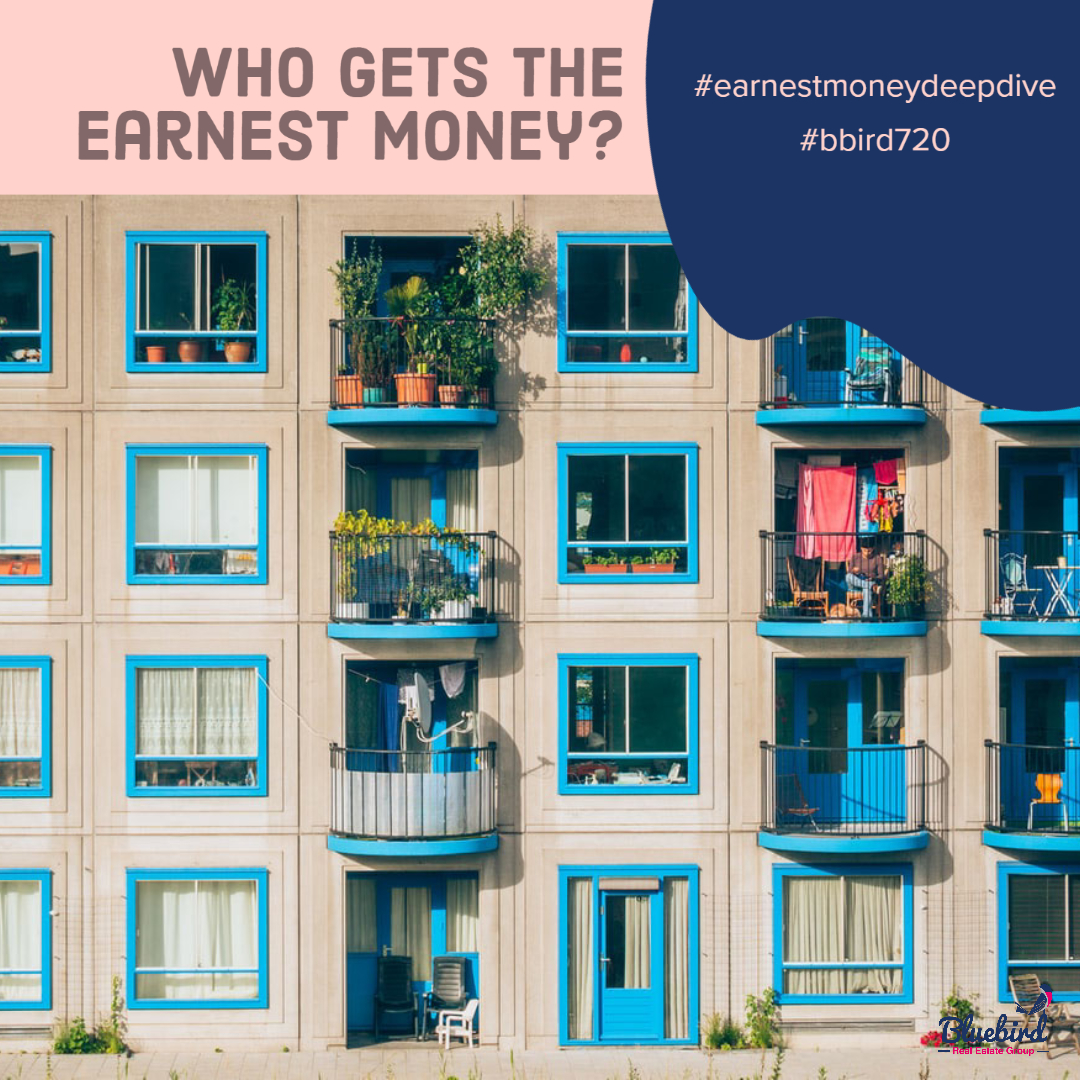 Who gets the earnest money?