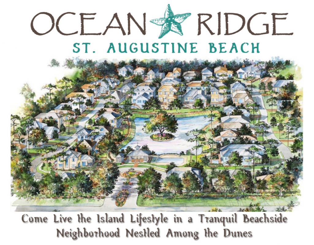 Ocean Ridge Single Family Homes and Lots in St. Augustine Beach 1024x800 Ocean Ridge Homes For Sale in St Augustine Beach