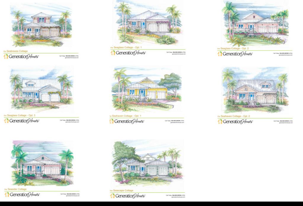 SeaView a custom home neighborhood in St. Augustine 1024x698 Sea View Homes For Sale on Anastasia Island in St Augustine Beach