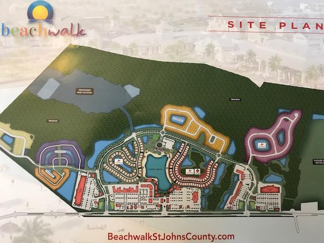 Beachwalk Site Plan