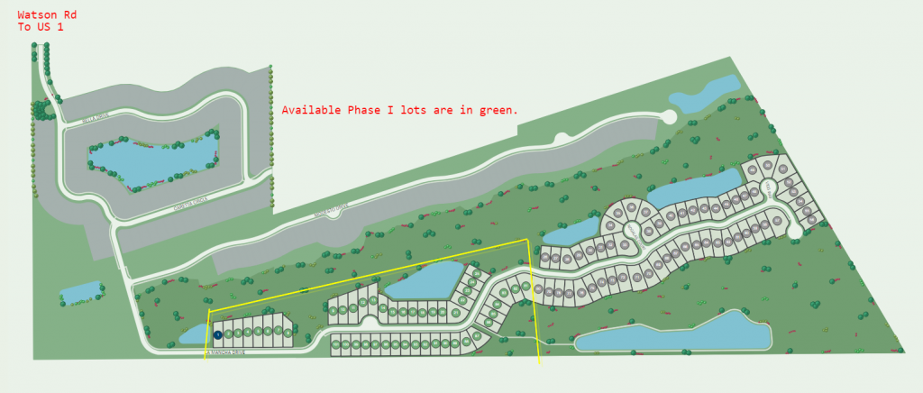 Villages-of-Valencia-by Pulte Homes Site Map