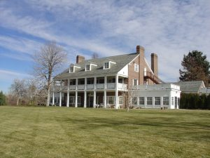 Buell Mansion is the Clubhouse for its Residents