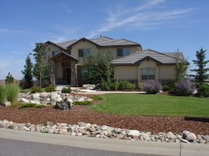 One of many beautiful homes in Pradera!
