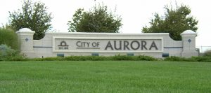 You are entering the city of Aurora CO