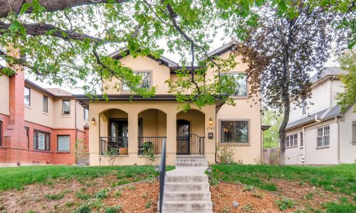 Sold!  Mediterranean Spanish style home in beautiful Park Hill
