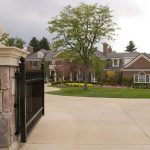 the gate to mannings new mansion 150x150 $4.5 Million Denver Mansion Owned by Peyton Manning Take a look inside