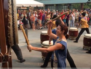 Taiko Drummers Welcome Orenco Platform In 2015