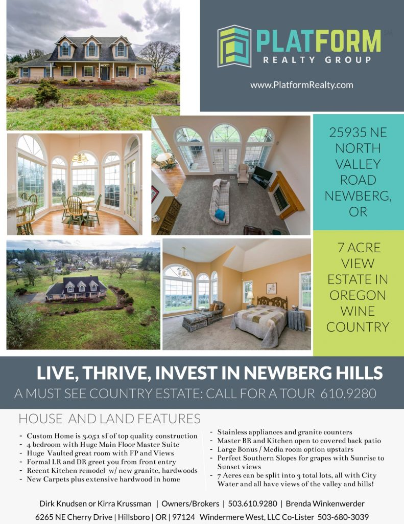 25935 North Valley Road 1 1 791x1024 25935 North Valley Road Offers Wine Country Dream Estate On 3 Acreage Lots