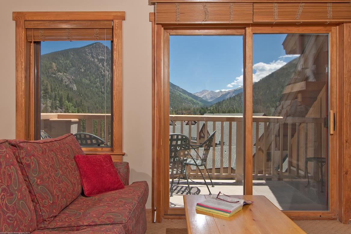 ViewFromLivingRoomLowRes Red Hawk Lodge condos for sale