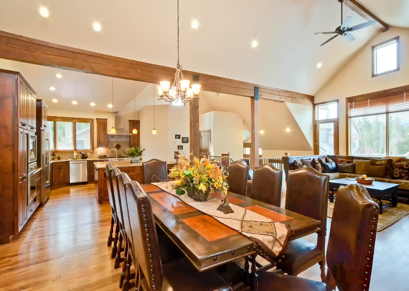 DiningToKitchenWeb Estates at Settlers Creek Real Estate