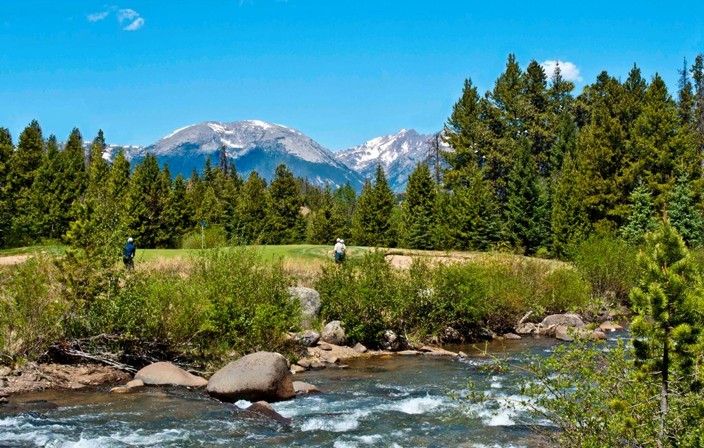 Keystone Golf Course 17 reduced Cabins in the Pines for sale