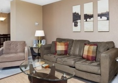 Remodeled Brooks Tower condo with parking space
