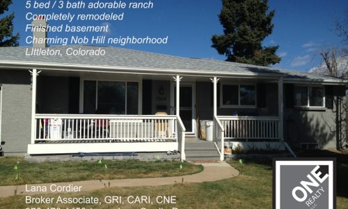 Completely remodeled ranch in charming Nob Hill