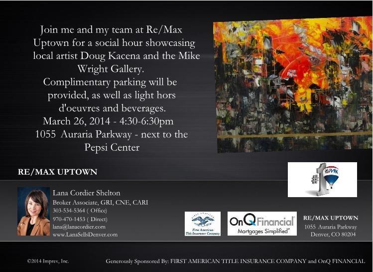 Art Exhibit RE/MAX Uptown hosts Doug Kacena Exhibit
