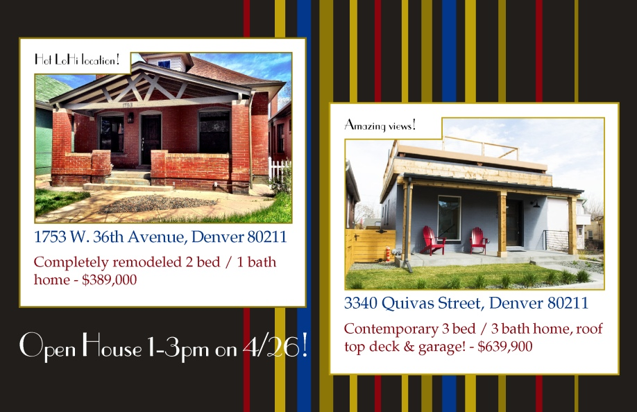 Open House 042614 LoHi Open Houses