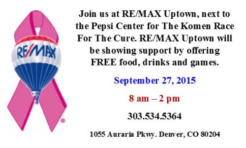 RE/MAX Uptown supports Race For The Cure participants