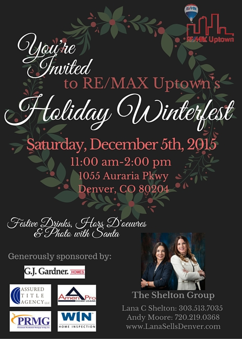 1 Holiday Winterfest at RE/MAX Uptown