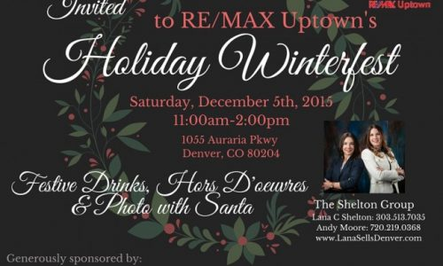 Holiday Winterfest at RE/MAX Uptown