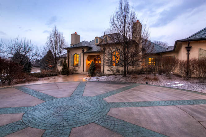 14 Sandy Lake Road Englewood small 003 2 Exterior Front 666x444 72dpi Stunning French Country Luxury