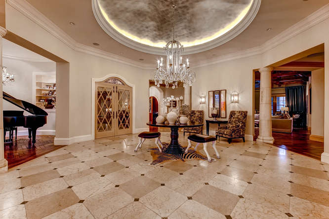 14 Sandy Lake Road Englewood small 008 8 Foyer 666x444 72dpi Stunning French Country Luxury