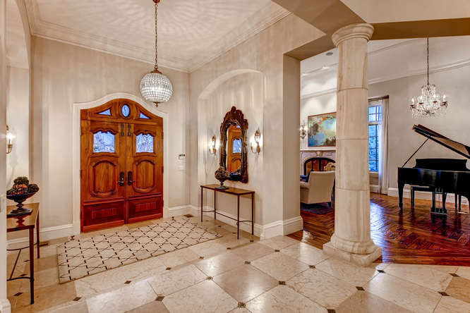 14 Sandy Lake Road Englewood small 009 28 Foyer 666x444 72dpi Stunning French Country Luxury