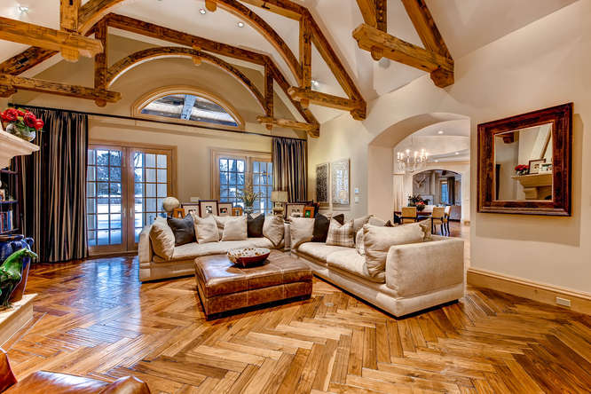 14 Sandy Lake Road Englewood small 011 10 Living Room 666x444 72dpi Stunning French Country Luxury