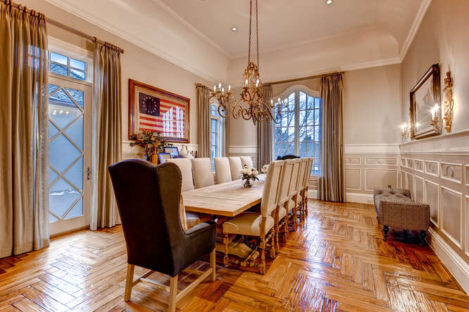 14 Sandy Lake Road Englewood small 015 5 Dining Room 666x444 72dpi Stunning French Country Luxury