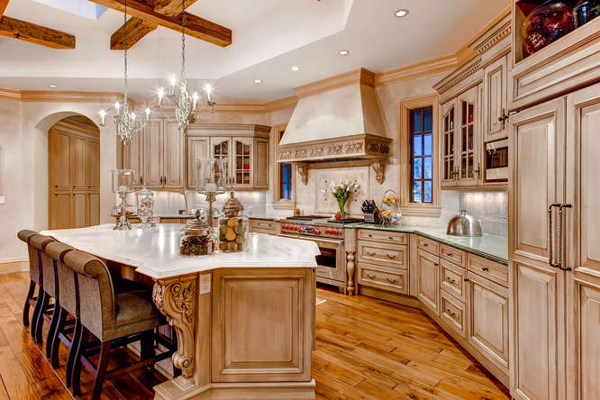 14 Sandy Lake Road Englewood small 016 6 Kitchen 666x444 72dpi Stunning French Country Luxury