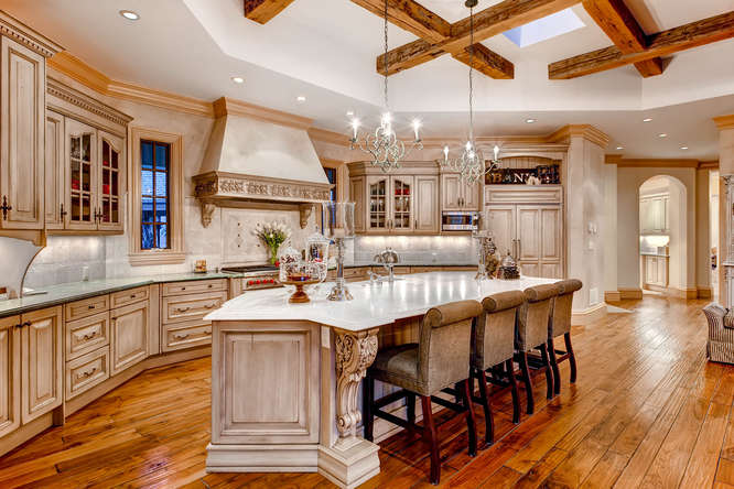 14 Sandy Lake Road Englewood small 017 18 Kitchen 666x444 72dpi Stunning French Country Luxury