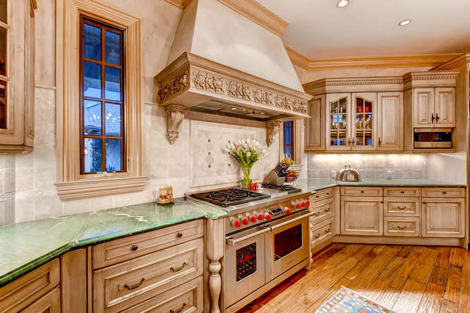14 Sandy Lake Road Englewood small 020 15 Kitchen 666x445 72dpi Stunning French Country Luxury
