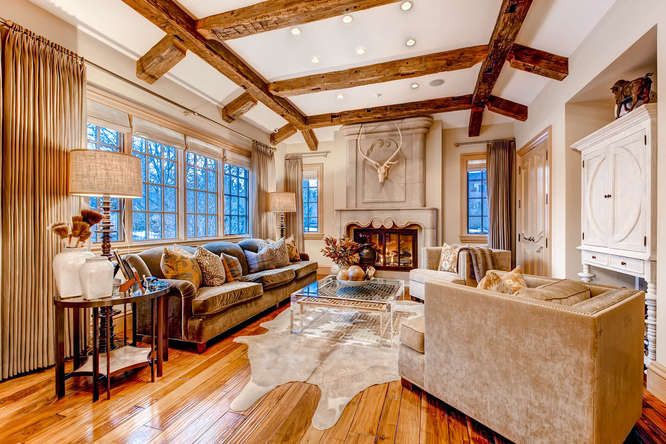 14 Sandy Lake Road Englewood small 022 22 Family Room 666x444 72dpi Stunning French Country Luxury