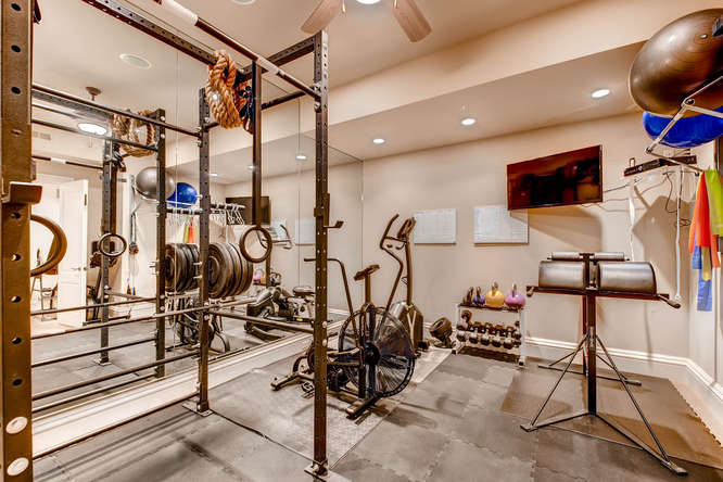 14 Sandy Lake Road Englewood small 024 24 Lower Level Exercise Room 666x444 72dpi Stunning French Country Luxury