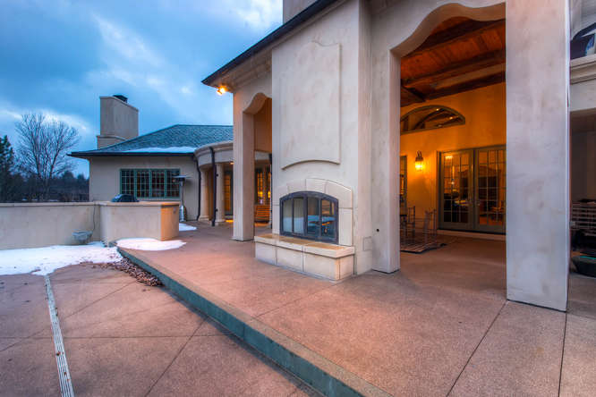 14 Sandy Lake Road Englewood small 026 23 Patio 666x444 72dpi Stunning French Country Luxury