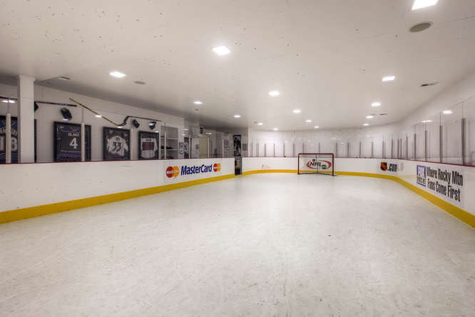 14 Sandy Lake Road Englewood small 031 30 Hockey Rink 666x445 72dpi Stunning French Country Luxury