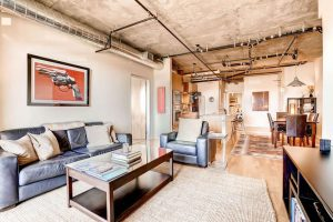 2229 Blake Street 510 Denver small 006 28 Living Room 666x444 72dpi 300x200 Luxurious Modern Loft