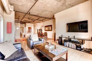 2229 Blake Street 510 Denver small 007 4 Living Room 666x444 72dpi 300x200 Luxurious Modern Loft