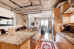 2229 Blake Street 510 Denver small 013 18 Kitchen 666x444 72dpi 300x200 Luxurious Modern Loft