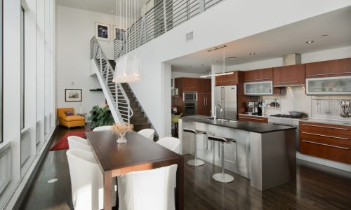 Exquisite pied-à-terre with mountain views steps to Denver Art Museum